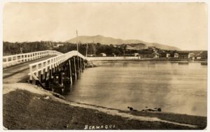 1st bridge looking north ca 1890