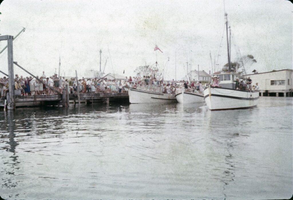 Harbour Fishermens Jetty Boats Tuna Festival ca. 1960s