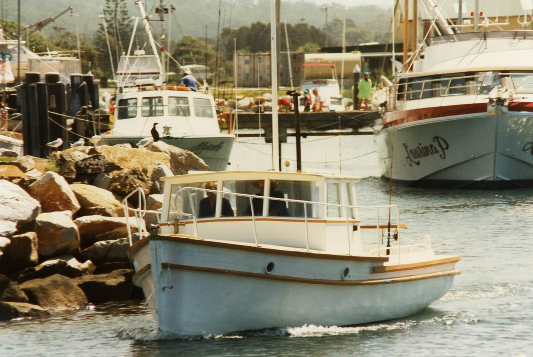 Boat Lady Jane Bermagui - Harbour Fishing Boats